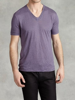 John Varvatos - Short Sleeve V-Neck T-Shirt