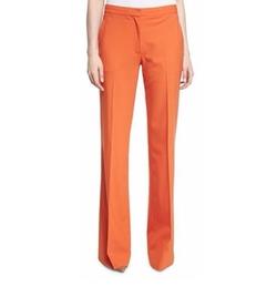 Diane von Furstenberg - Katara Wide-Leg Wool-Blend Pants