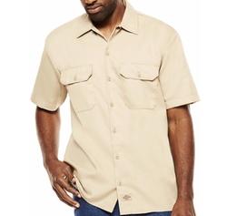 Dickies - Short-Sleeve Denim Work Shirt