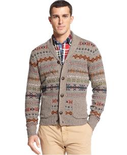 Tommy Hilfiger  - Sweater, Karl Shawl Collar Sweater