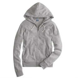 J.Crew - Brushed Fleece Zip Hoodie