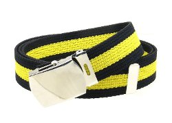 BC Belts - Canvas Web Belt Military Style Belt
