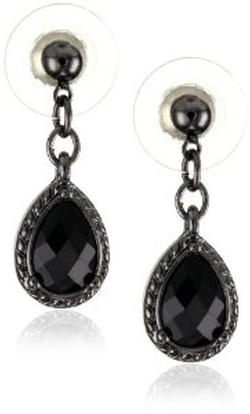 1928 Jewelry - Victorian Mini Teardrop Earrings
