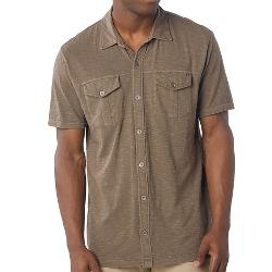 Prana Hayes  - Polo Shirt Organic Cotton Short Sleeve