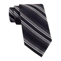 Claiborne - Tom Textured Stripe Tie