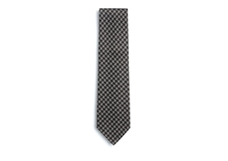 Tom Ford - Houndstooth Basketweave Silk Tie