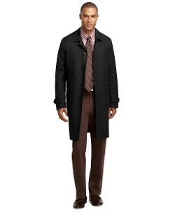 Brooks Brothers - Newbury Navy Trench Coat