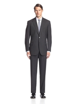 Brioni  - Pinstripe Notch Lapel Suit