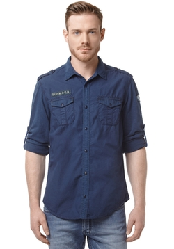 Buffalo David Bitton - Sargontin Military Shirt