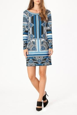Hale Bob - Printed Longsleeve Dress