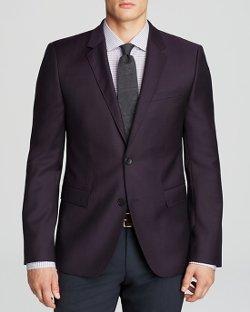 Hugo  - Aeris Textured Solid Sport Coat