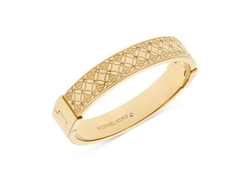 Michael Kors - Pavé Monogrammed Bangle Bracelet