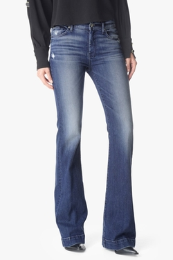7 For All Mankind - Dojo Original Trouser In Lake Blue