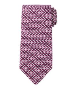 Salvatore Ferragamo  - Elephant-Print Silk Tie