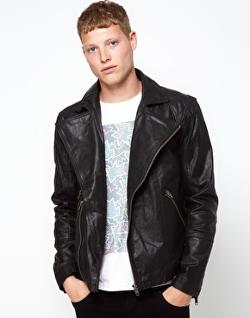 Barney  - Leather Jacket Biker