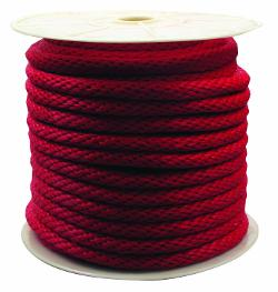 Rope King  - Solid Braided Poly Rope - Red