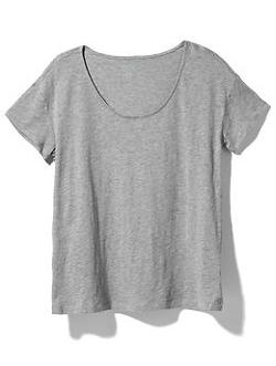 August Salt - August Scoop Neck Tee