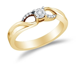 Sonia Jewels - Round Diamond Engagement Ring