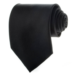 K. Alexander - Solid Color Black Ties