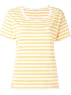 Saint Laurent - Striped T-Shirt