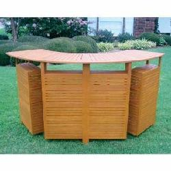 Royal Tahiti - Outdoor Furniture Large Fold Out Bar