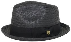 Brixton - Castor Straw Fedora Hat