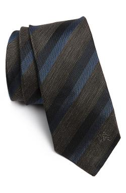 Burberry London  - Woven Silk Blend Tie