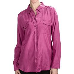 Dylan - True Grit Silky Blouse - Silk Blend, Long Sleeve