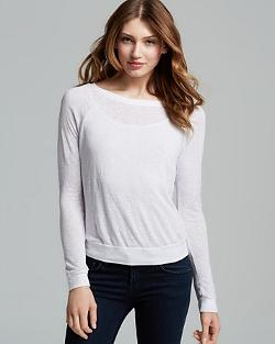 Three Dots  - Raglan Sweatshirt