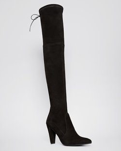 Stuart Weitzman - Pointed Toe Over The Knee Boot