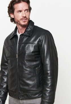 Danier - Dawson Lamb Leather Bomber Jacket