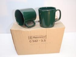 Superware  - Melamine Green Coffee Mugs