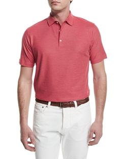 Isaia - Gran Pique Polo Shirt