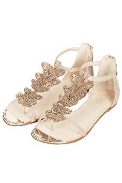 Topshop - Passadena Flat Sandals By CJG