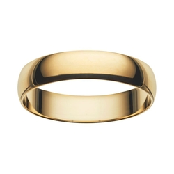 Cherish Always - Gold Wedding Band Ring
