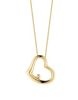 Roberto Coin - Baby Heart Diamond Necklace