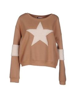 Baguette..... - Round Collar Sweatshirt