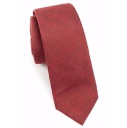 Saks Fifth Avenue Collection  - Modern Textured Wool & Silk Tie