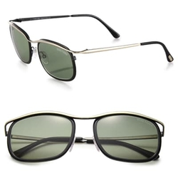 Tom Ford Eyewear - 68MM Round Sunglasses