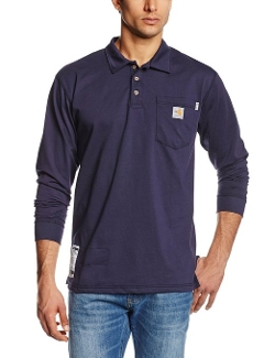 Carhartt - Force Cotton Long Sleeve Polo Shirt