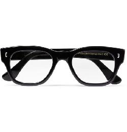 CUTLER AND GROSS   - TWO-TONE SQUARE-FRAME OPTICAL GLASSES