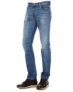 Valentino - Chino-Fit Straight Denim Jeans