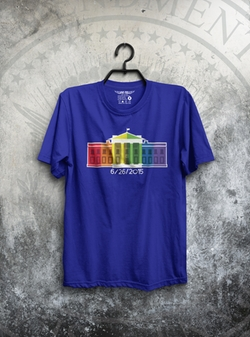 Fat Tee - Gay White House T-Shirt