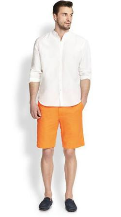 Saks Fifth Avenue Collection - Cotton & Linen Sportshirt