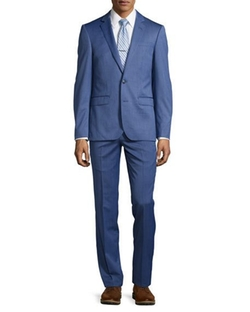 Neiman Marcus  - Slim-Fit Two-Piece Suit
