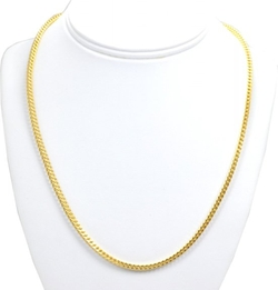 Shin Brothers, Inc. - Square Wheat Chain Necklace