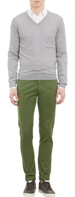 Malo  - Pullover V-Neck Sweater