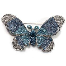 Avalaya - Swarovski Crystal Butterfly Brooch