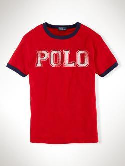"RALPH LAUREN - ""Polo"" Cotton Tee"