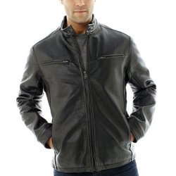 Excelled - Nappa Leather Racer Jacket